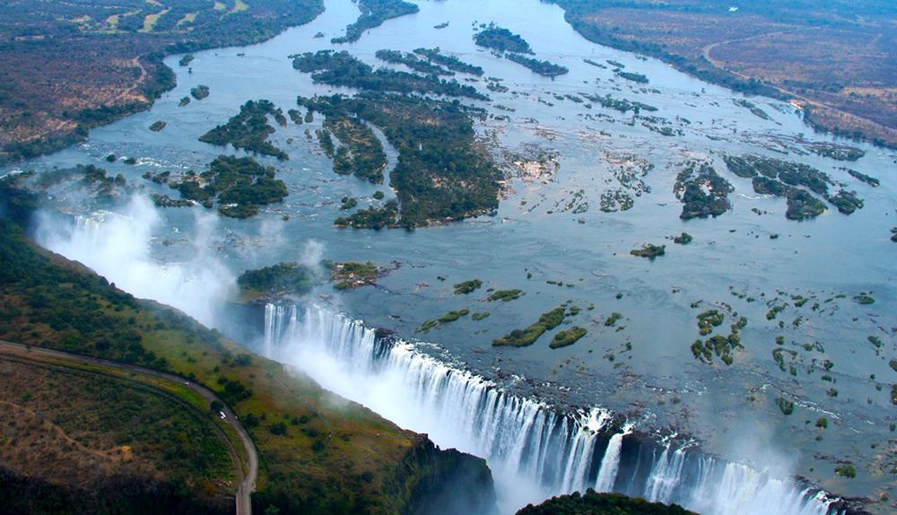 Водопада Виктория в Замбия и Зимбабве