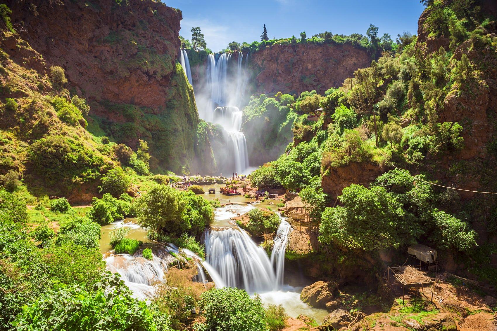 Водопада Узуд, Мароко